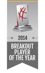Break Out Player of the Year Award