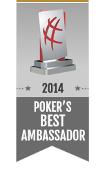 Poker's Best Ambassador Award