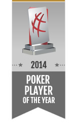 Poker Player of the Year Award